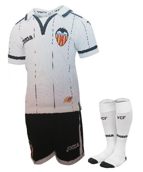 VALENCIA MINIKITS S/S WHITE-BLACK