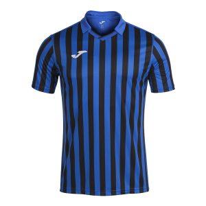 Camiseta Copa II azul y negro