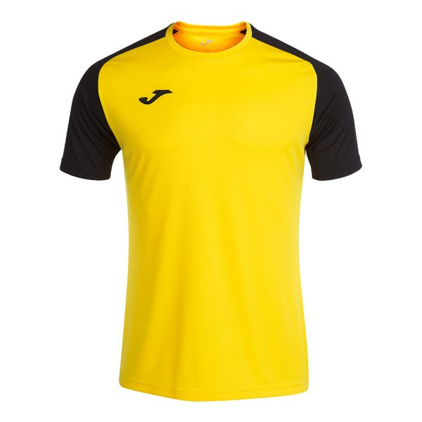Camiseta Academy IV amarillo y negro