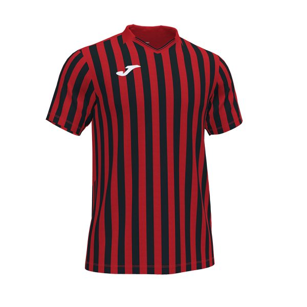 Camiseta Copa II rojo y negro