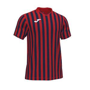 Camiseta Copa II rojo y azul