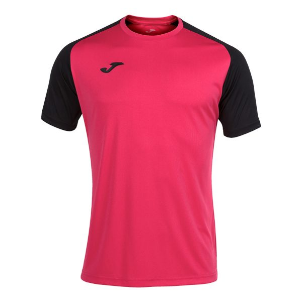 Camiseta Academy IV rosa y negro