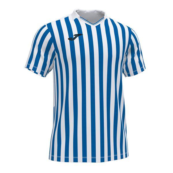 Camiseta Copa II azul y blanco