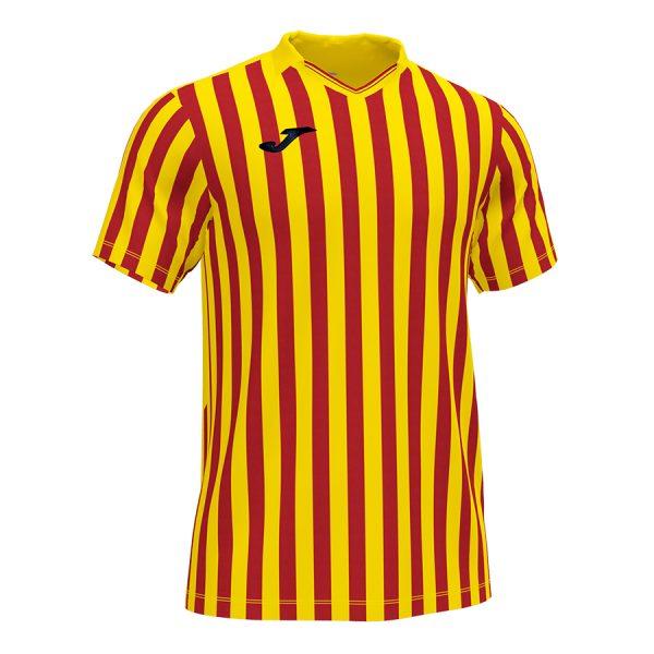 Camiseta Copa II rojo y amarillo