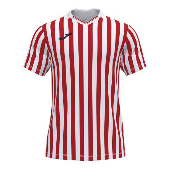Camiseta Copa II rojo y blanco