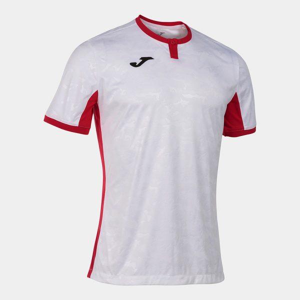 Camiseta Toletum II blanca y roja