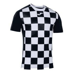 Camiseta Flag II blanco y negro