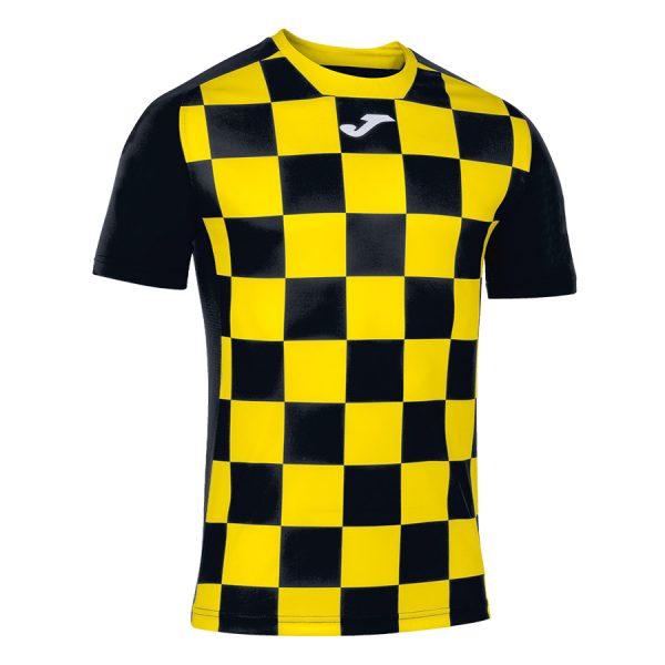 Camiseta Falg II amarillo y negro