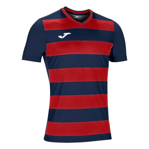 Camiseta Europa IV azul y rojo