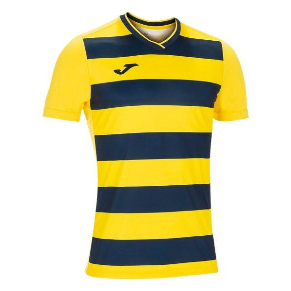 Camiseta Europa IV amarillo y negro