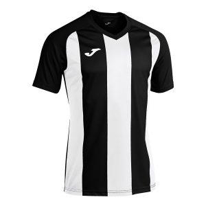 Camiseta Pisa II negro y blanco