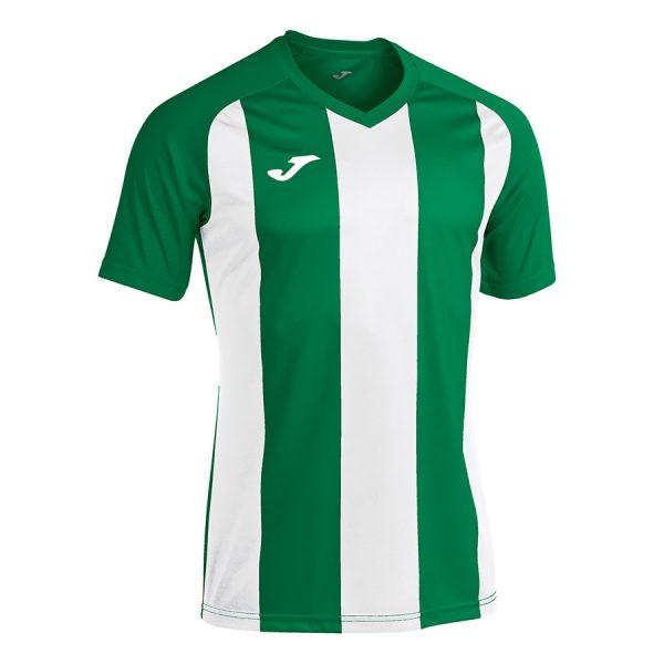 Camiseta Pisa II verde y blanco