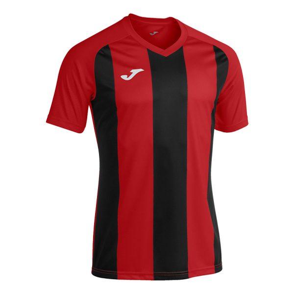 Camiseta Pisa II rojo y negro