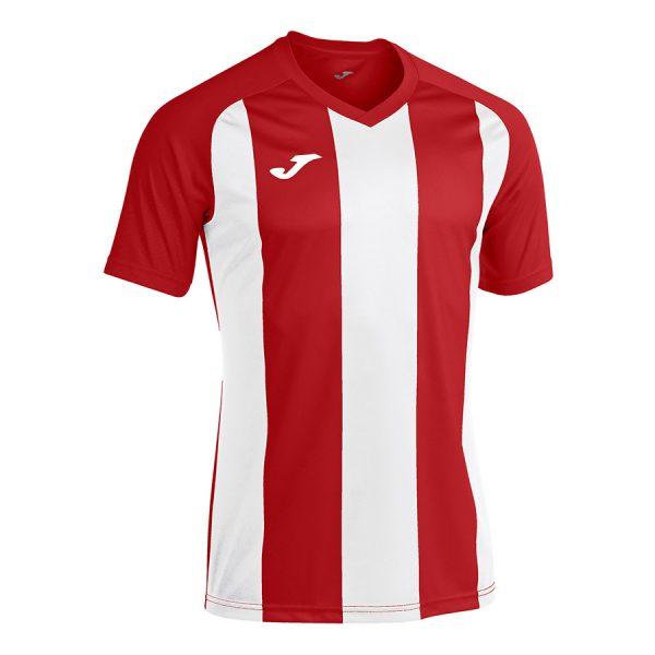 Camiseta pisa II blanco y rojo