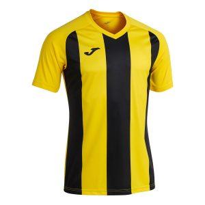 Camiseta Pisa II amarillo y negro