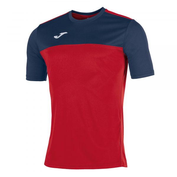 Camiseta Winner rojo y azul
