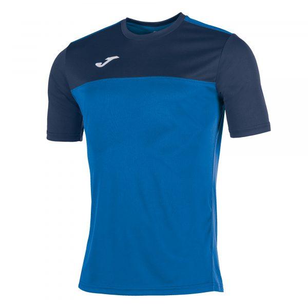Camiseta Winner azul y azul oscuro