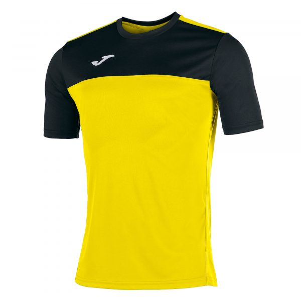 Camiseta Winner amarillo y negro