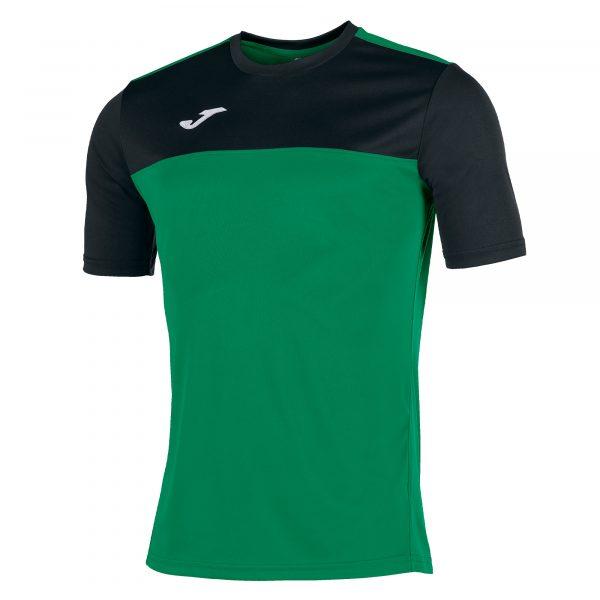 Camiseta Winner verde y negro