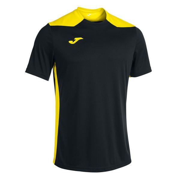 Camiseta Championship VI negro y amarillo