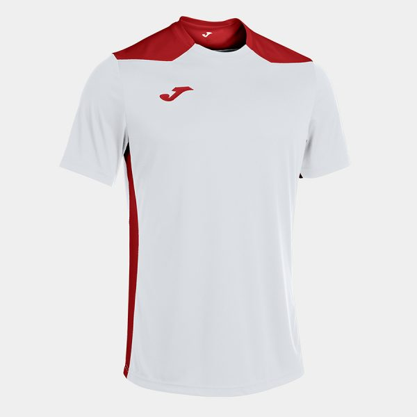 Camiseta Champioship VI blanco y rojo