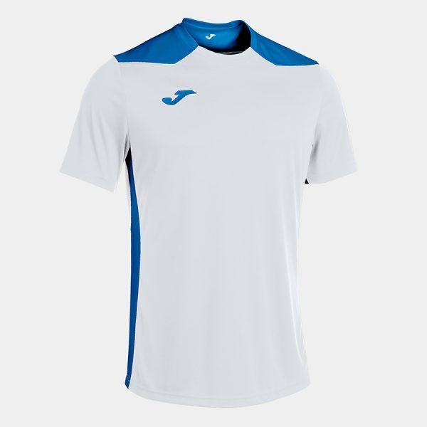Camiseta Championship VI blanco y azul