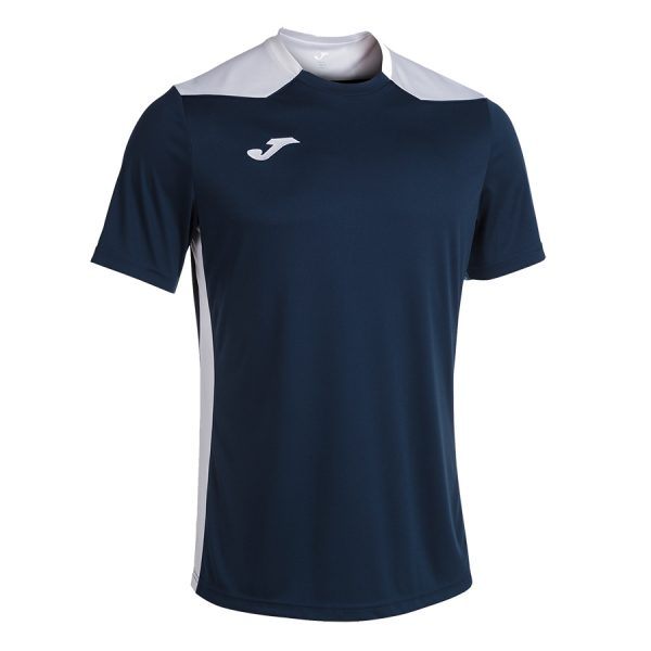 Camiseta Championship VI negro y blanco