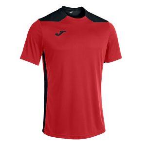 Camiseta Champioship VI rojo y negro