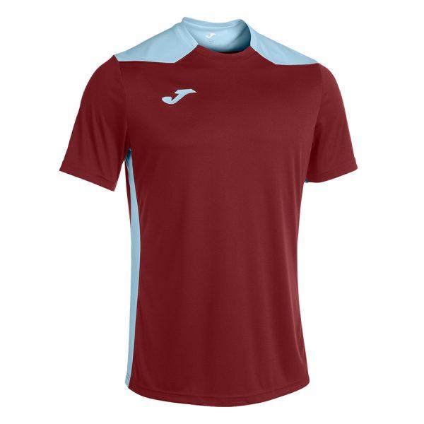 Camiseta Championship VI granate y azul