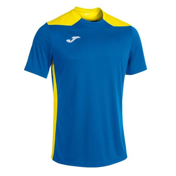 Camiseta Championship VI azul y amarillo