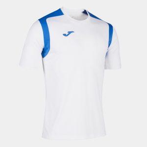 Camiseta Championship V blanca y azul