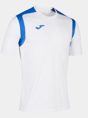 Camiseta Championship V blanco y azul
