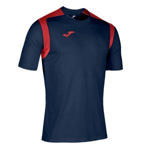 Camiseta Championship V azul y rojo