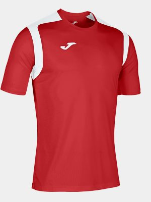Camiseta Championship V rojo y blanco