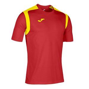 Camiseta Championship V rojo y amarillo