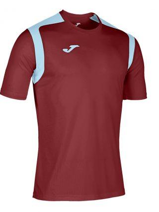 Camiseta Championship V granate y azul