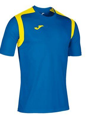 Camiseta Championship V azul y amarillo