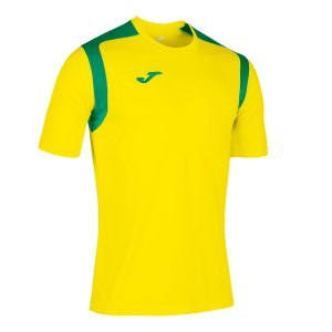 Camiseta Champions V amarillo y verde