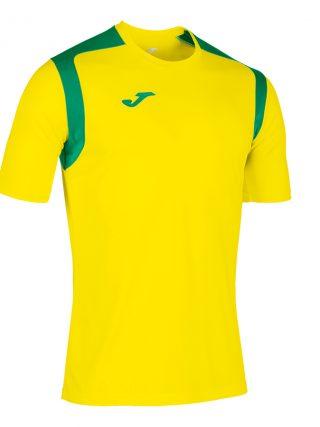Camiseta Championship V amarillo y verde