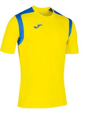 Camiseta Championship V amarillo y azul