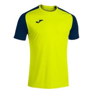 Camiseta Academy IV amarilli fluorescente y negro