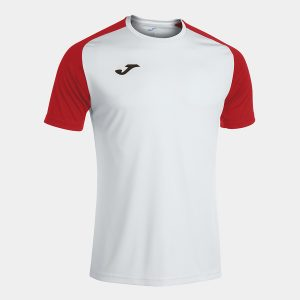 Camiseta ACademy IV blanco y rojo