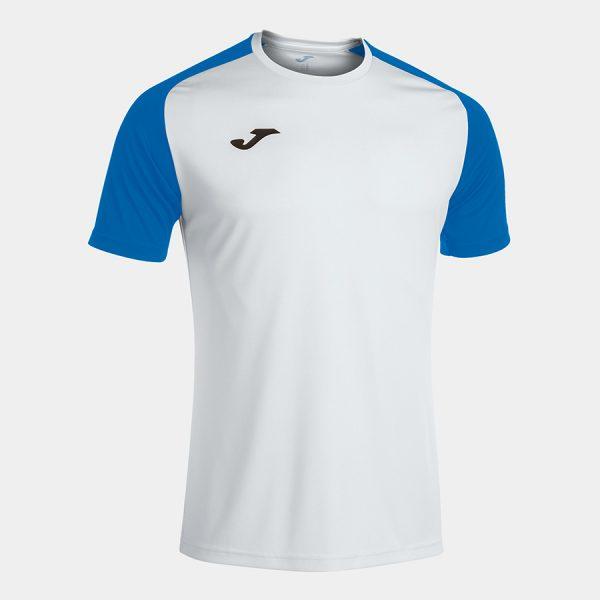 Camiseta Academy IV blanco y azul