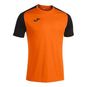Camiseta Academy IV naranja y negro