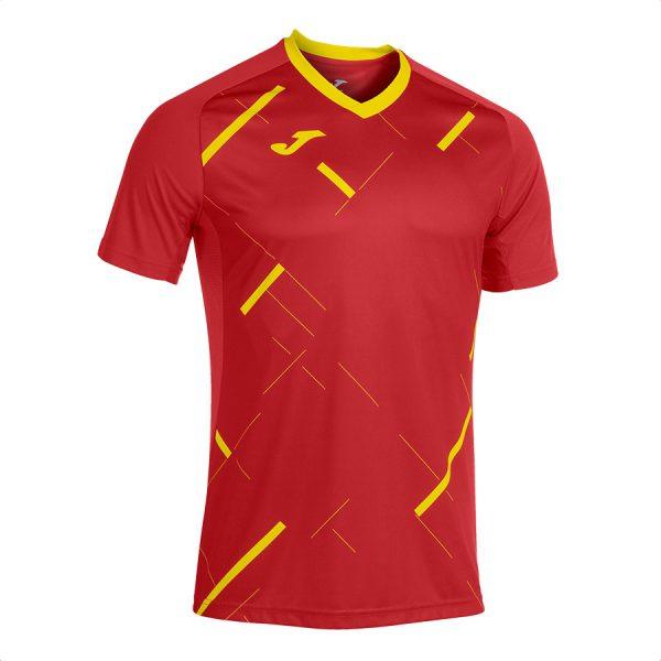 Camiseta tiger III rojo y amarillo