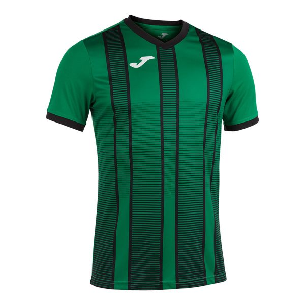 Camiseta Tiger II verde y negro