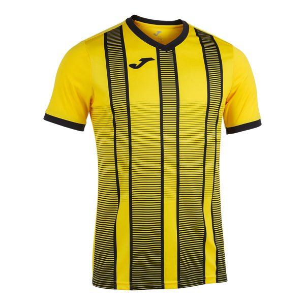 Camiseta Tiger II amarillo y nergo