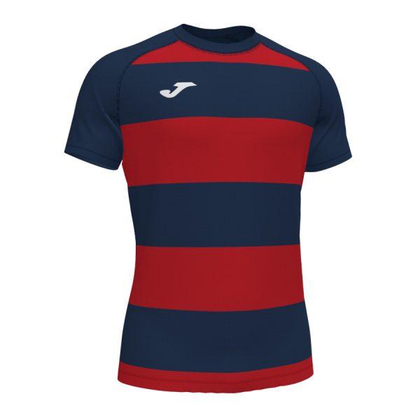 Camiseta Prorugby II azul y rojo