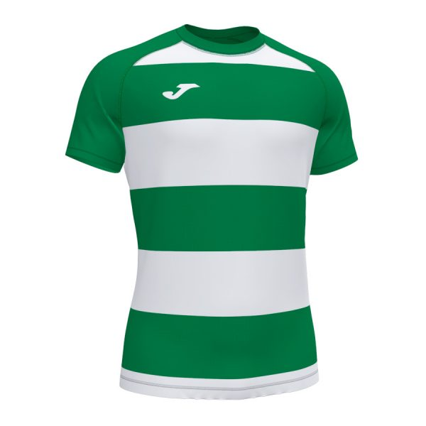 Camiseta Prorugby II verde y blanco