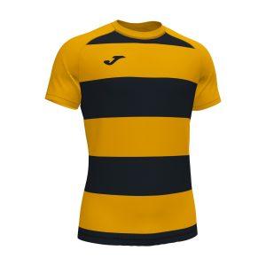 Camiseta Prorugby II amarillo y negro